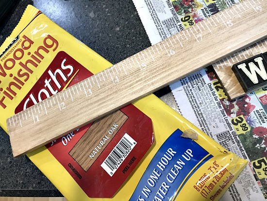 Minwax cloths for staining wood