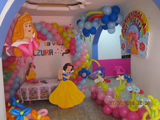 DECORACION FIESTA PRINCESAS DISNEY