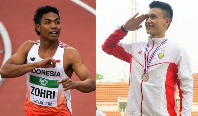 Termotivasi Zohri, Pelari Asal Kebumen Raih Medali Emas di ASG Malaysia