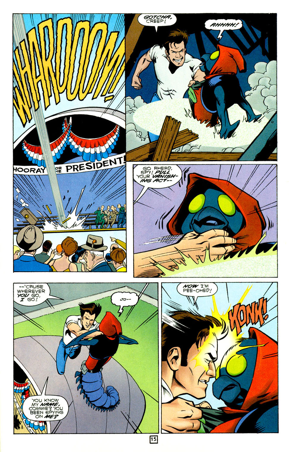 Legion of Super-Heroes (1989) 92 Page 15