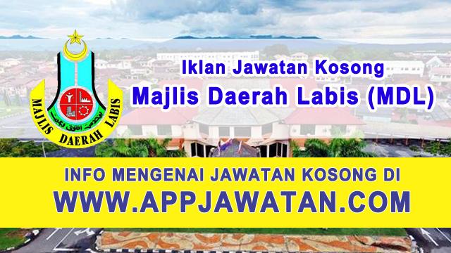 Jawatan Kosong di Majlis Daerah Labis (MDL) - 5 Februari 2017