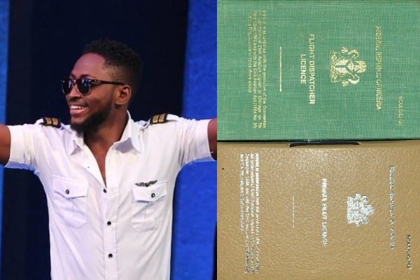 BBNaija winner, Miracle gets pilot license from IMO state Governor