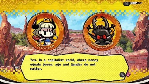 Penny Punching Princess Screenshot 1