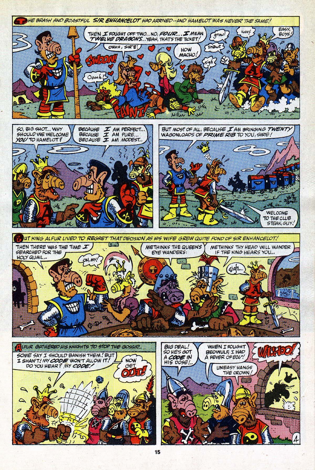 Read online ALF comic -  Issue #26 - 14
