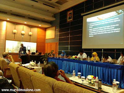 Saya ketika presentasi mewakili Tim MIP UGM