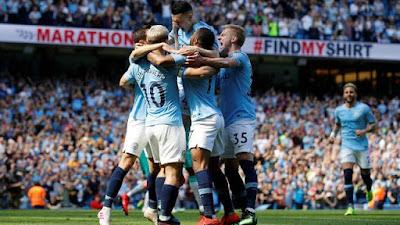 Resumo do jogo Manchester City 1 x 0 Tottenham