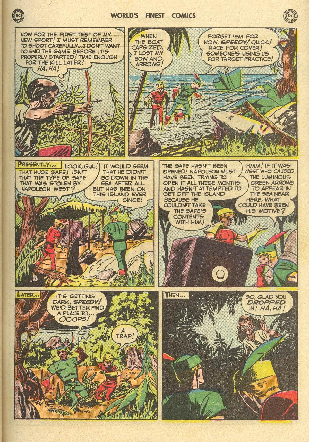 Read online World's Finest Comics comic -  Issue #51 - 23