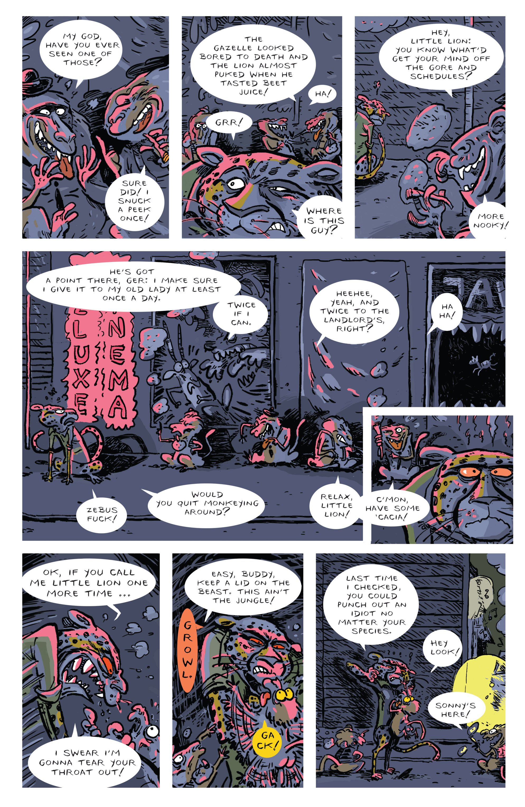 Read online Brutal Nature: Concrete Fury comic -  Issue #4 - 28