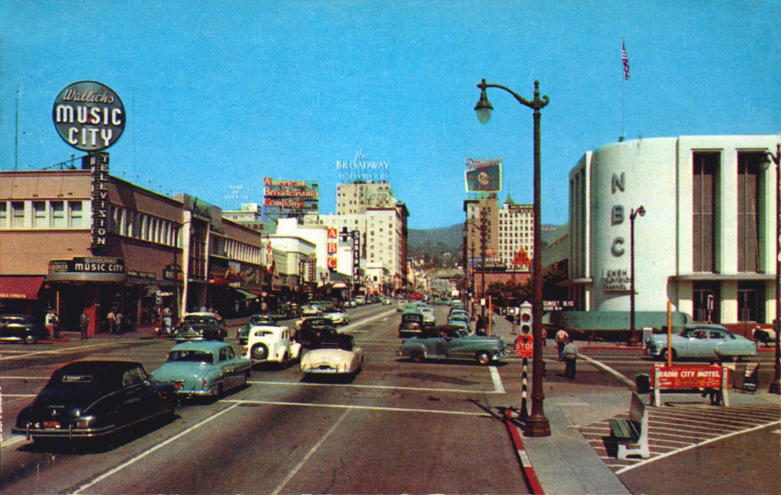Sunset Vine 1950s Wallick S Music City