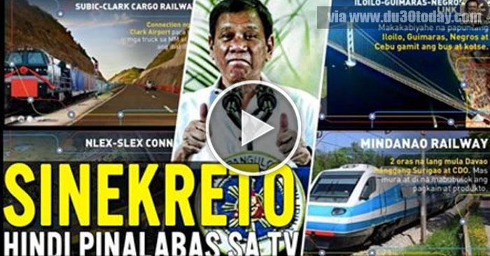 MAPAPAIYAK KA! Sa GANDA ng mga Proyekto ni Duterte na hindi PINALABAS sa Media!