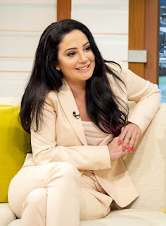 HQ Photos of Tulisa Contostavlos at Good Morning Britain in London