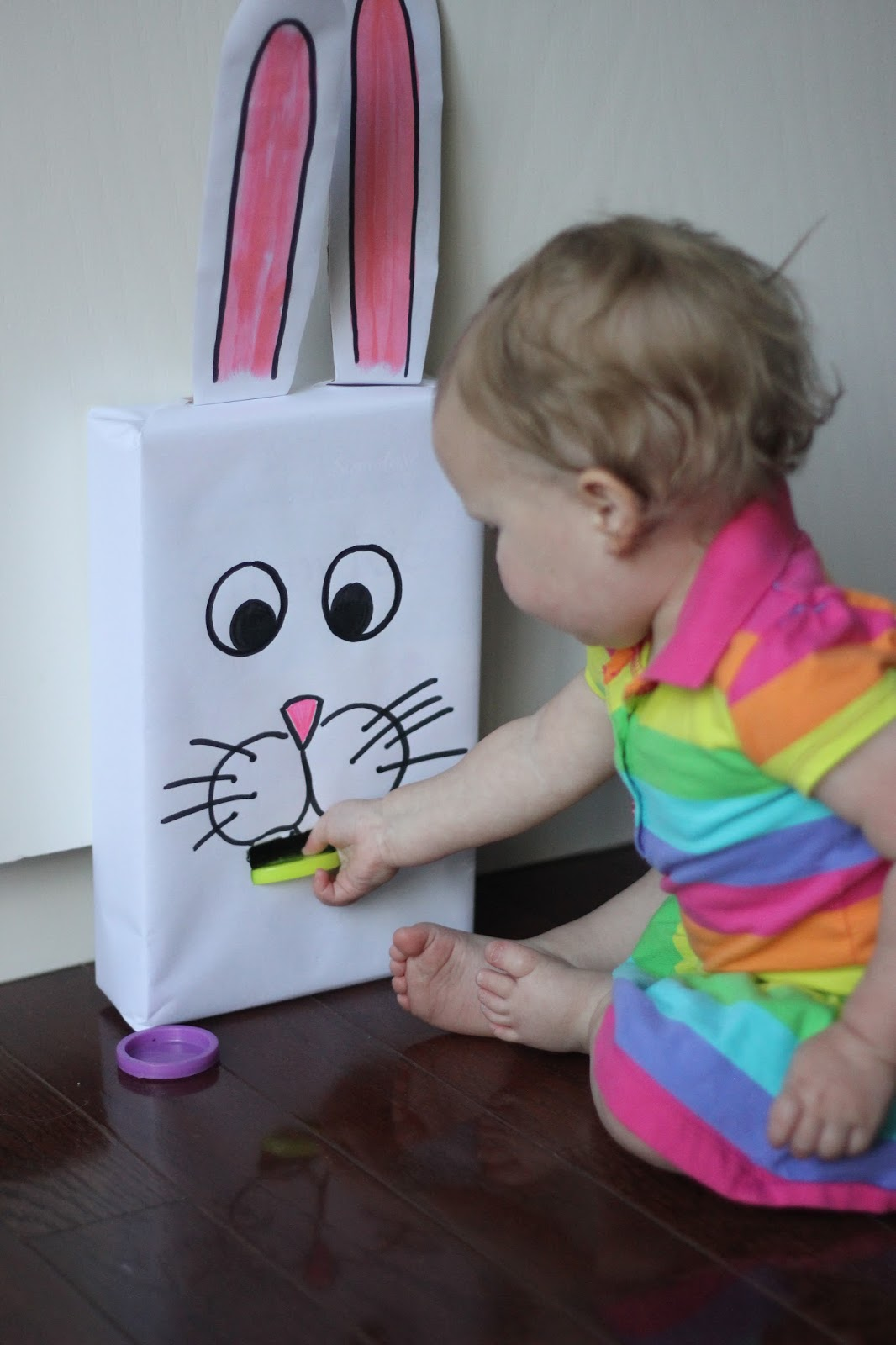 Toddler Approved Cereal Box Feed The Bunny Color Game For Kids