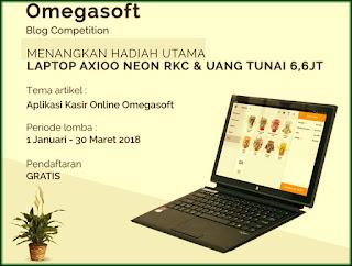 Aplikasi Kasir Online Omegasoft kontes SEO 2018