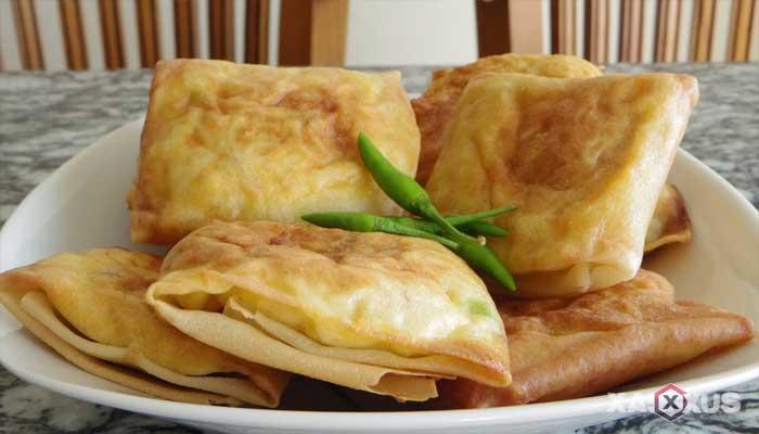 Resep cara membuat martabak telur mini