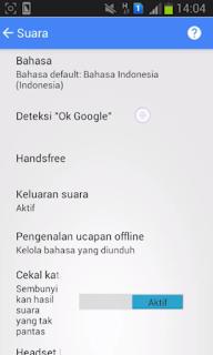 """Cara Mengaktifkan """"OK GOOGLE"""" di Android"""