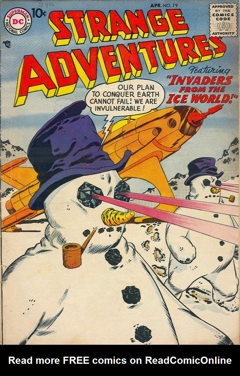 Strange Adventures (1950) issue 79 - Page 1