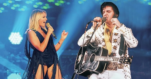 Chicago Schlager Music Review Helene Fischer With Elvis Ghost And An Aging Tom Jones