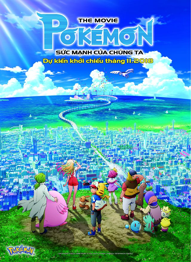 Pokemon Movie 21 : Sức Mạnh Của Chúng Ta - Pokémon The Movie 21: The Power of Us (2018)