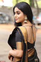 Poorna in Cute Backless Choli Saree Stunning Beauty at Avantika Movie platinum Disc Function ~  Exclusive 024.JPG