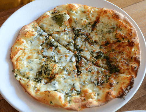 Garlic and Fresh Herbs Pizza