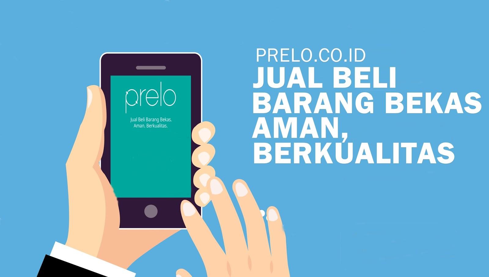 Prelo.co.id : E - Commers Barang Bekas Dengan Harga Murah