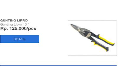 harga nok baja ringan daftar peralatan | atc menjual ...
