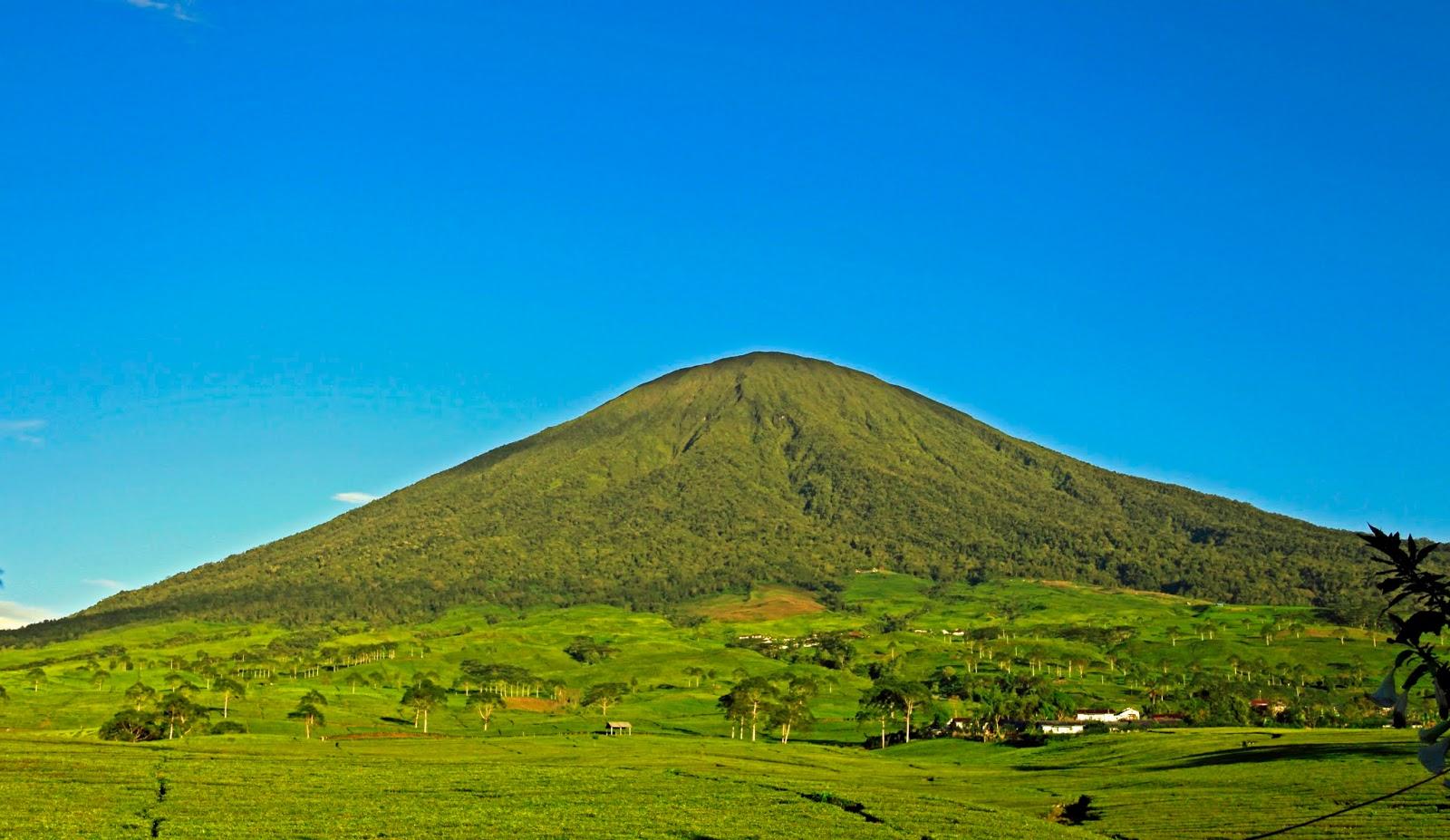 gunung dempo pagaralam masih aktif atau tidak gunung dempo pendakian