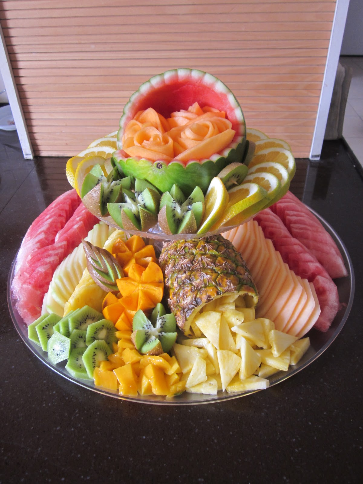 Chani S Delectables 2 Tier Baby Fruit Platter