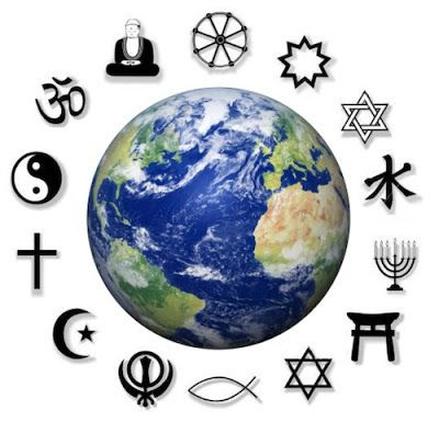 One God. Many religions, paths towards GOD.