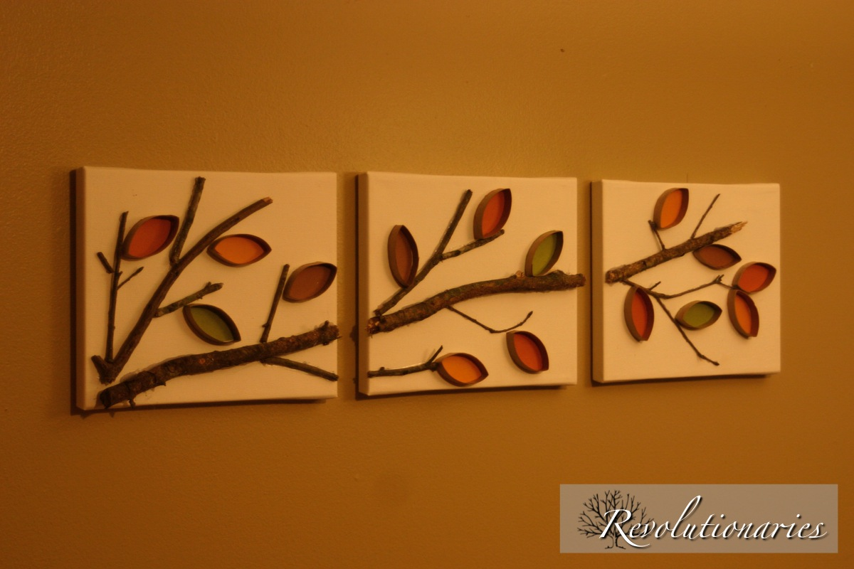 Toilet paper roll crafts wall art - Hard To Believe This Was Made With Toilet Paper Rolls