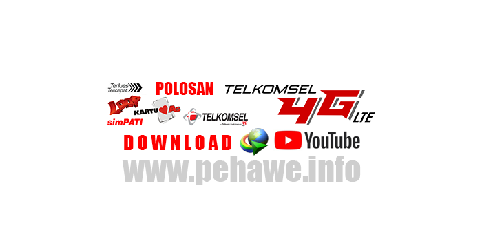Polosan Telkomsel Support Download Dengan IDM