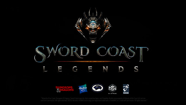Sword Coast Legends title screen