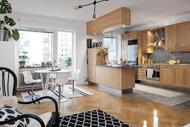 Thiết kế nội thất phòng bếp Ruby City Ct3
