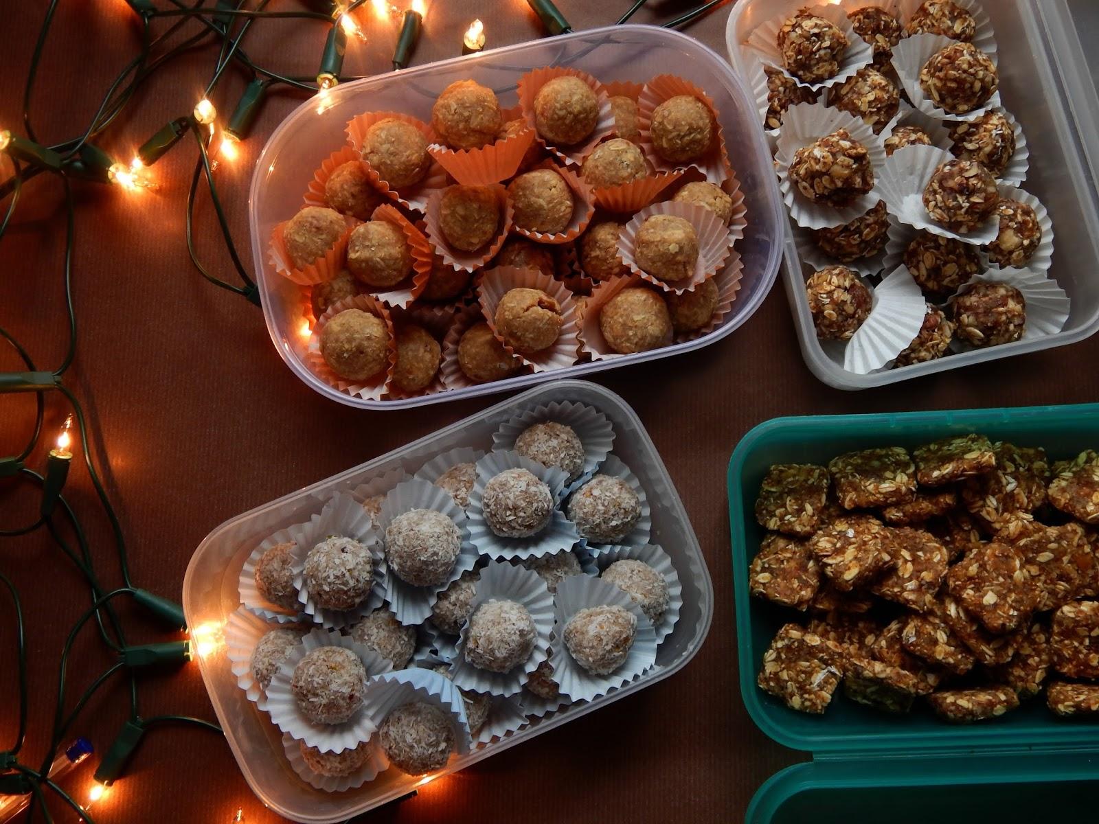 RAW Vánoční cukroví