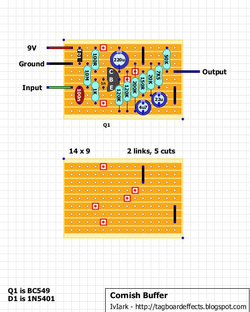 guitar fx layouts cornish buffer. Black Bedroom Furniture Sets. Home Design Ideas