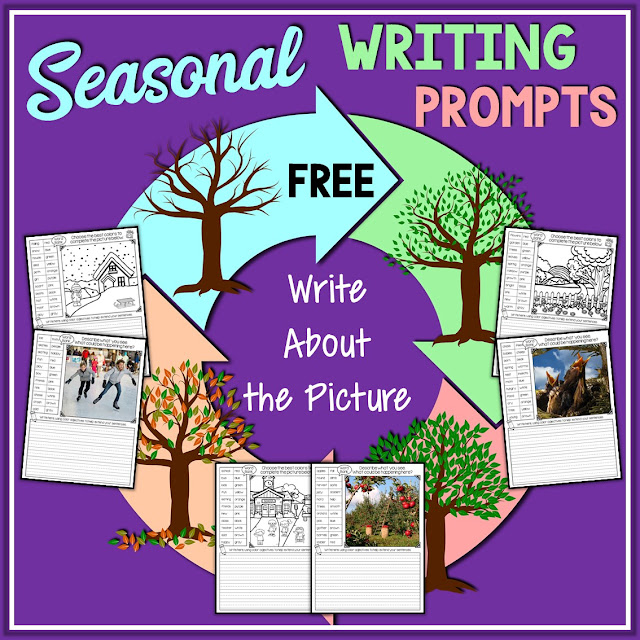 Image linking to a free seasonal write about the picture resource