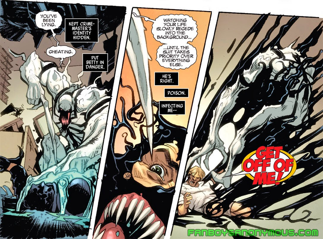 Read Anti-Venom origin story in Amazing Spider-Man: New Ways to Die by Dan Slott available on Amazon