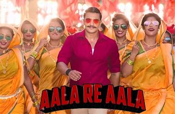 Aala Re Aala Song Lyrics and Video - SIMMBA || Ranveer Singh, Sara Ali Khan | Dev Negi, Goldi