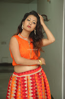 Shubhangi Bant in Orange Lehenga Choli Stunning Beauty ~  Exclusive Celebrities Galleries 059.JPG