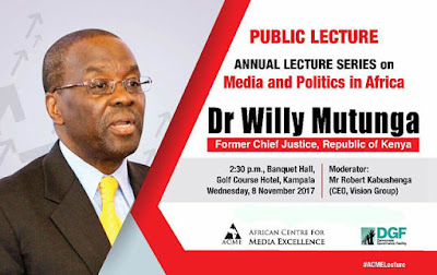 LIVE: Dr Willy Mutunga on politics, media and judicial independence in Africa