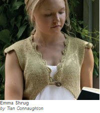 emma, shrug, knit, design, knitdesigns by tian