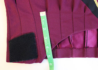 TNG season 1 admiral jacket - pleats