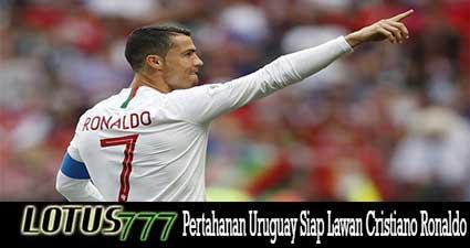 Pertahanan Uruguay Siap Lawan Cristiano Ronaldo