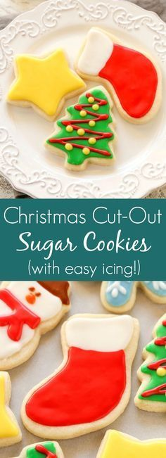 Soft Christmâs Cut-Out Sugâr Cookies