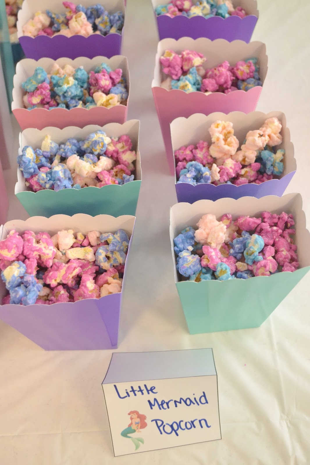Little Mermaid Birthday Party | Building Our Story