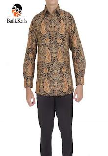 koleksi baju batik keris pria