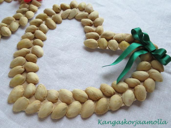 Pistaasipähkinä askartelu