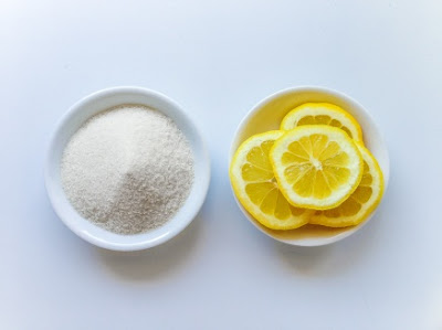 sugar and lemon juice used to remove unwanted hair