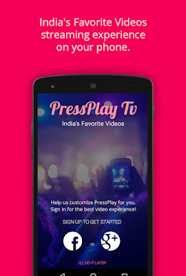 PressPlay TV, India's largest and first 'Online + Offline' Independent OTT platform announces a big makeover
