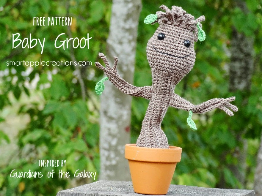 DIY PATTERN Baby Groot vol2 Amigurumi Crochet Pattern | Etsy | 660x881